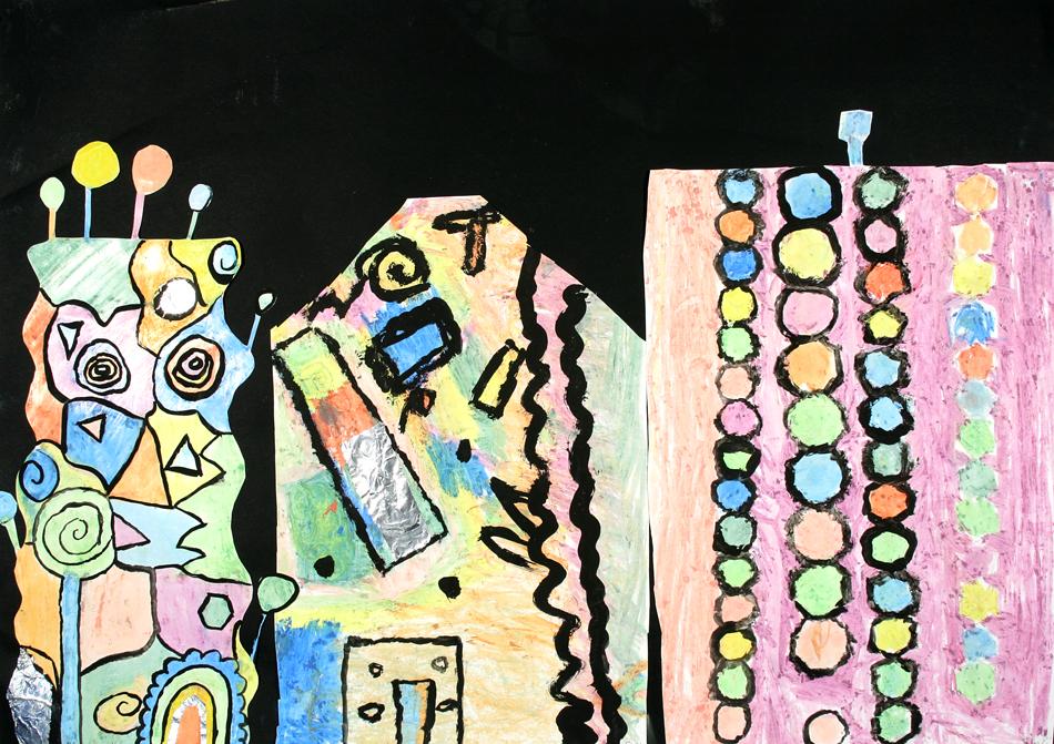 Hundertwasser-Häuser von Tim, Giovanna und Sven (9)