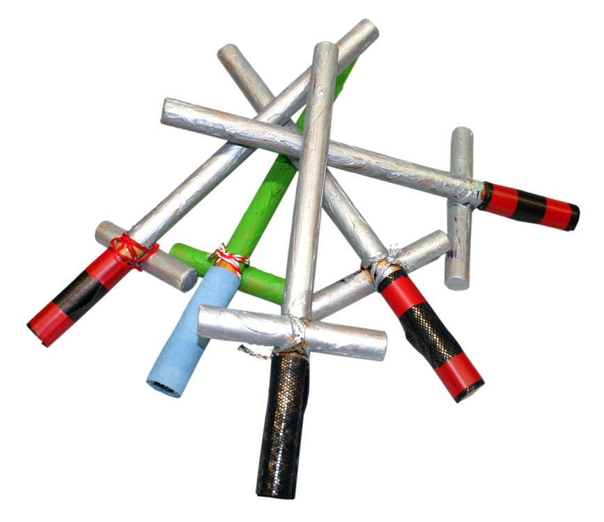 Kleine Schwerter von Gemeinschafts- arbeit (6-8)