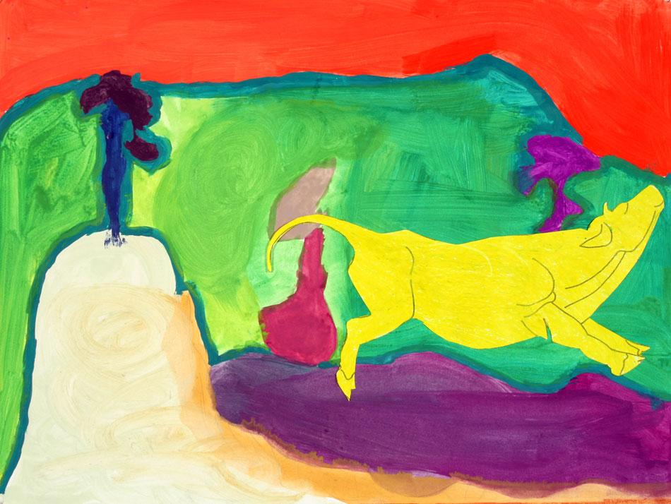 Gelbe Kuh von Amira (8)