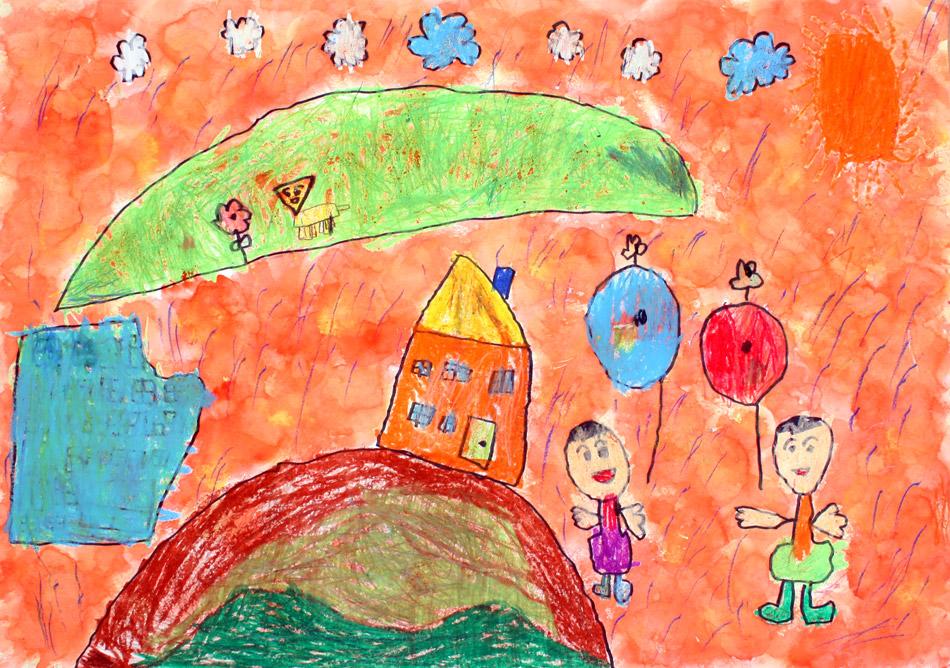 Luftballons steigen hoch von Yuto (6)
