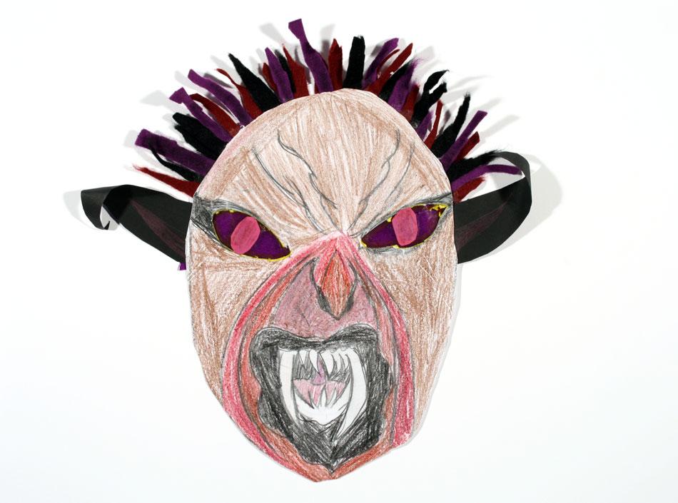 Maske von Fatima (10)