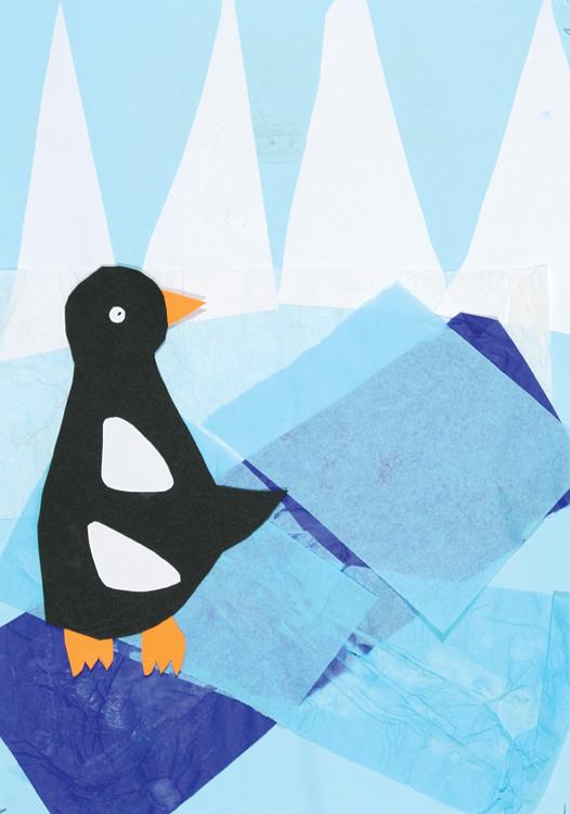 Pinguin am Nordpol von Heinrich (9)