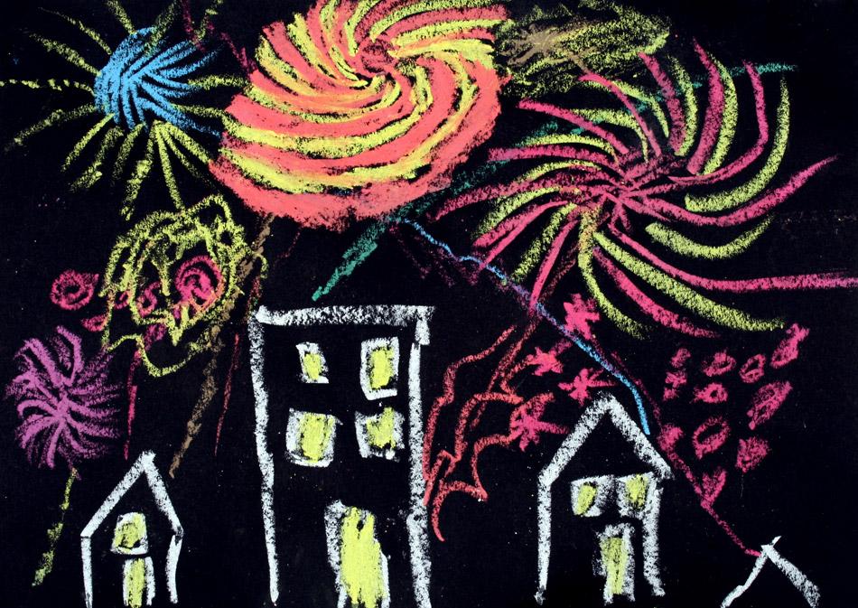 Feuerwerk 2009 von Henrik (8)