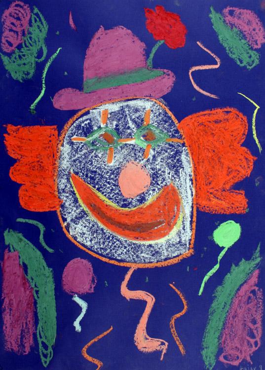 Clowngesicht von Hajar (8)