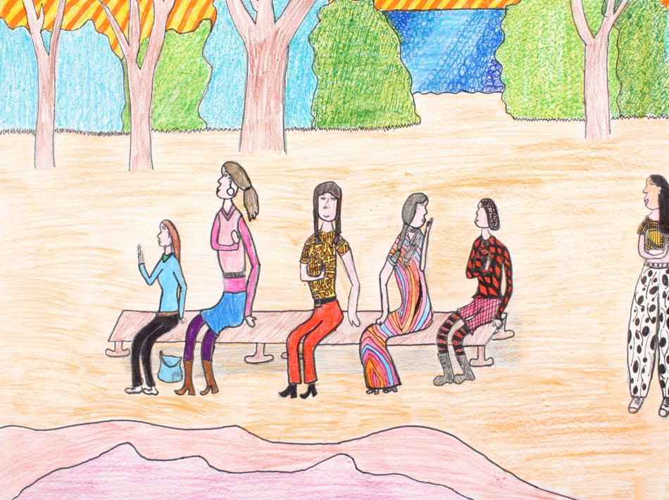 Berühmte Kunstwerke nachempfunden von Leonie (12)