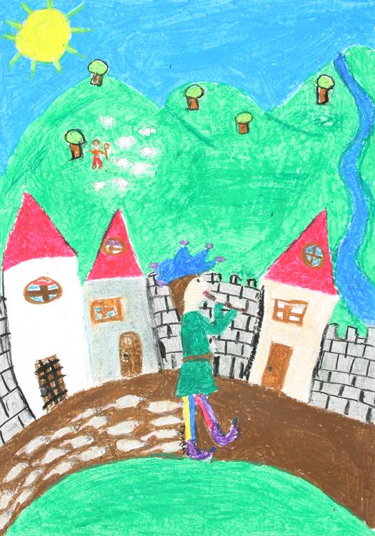 Der Rattenfänger von Hameln von Anna und Sara (10)