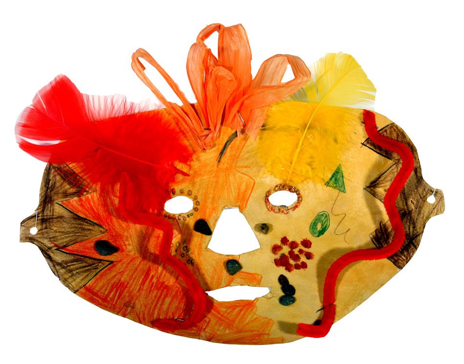 Afrikanische Maske von Niklas (10)