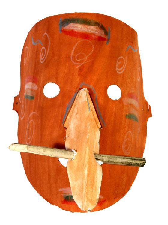 Afrikanische Maske von Andreas (9)