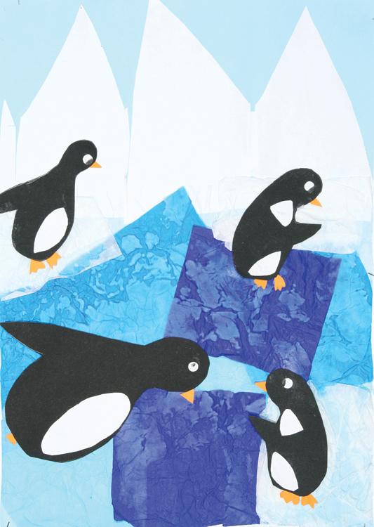 Pinguine am Nordpol von Kevin (8)