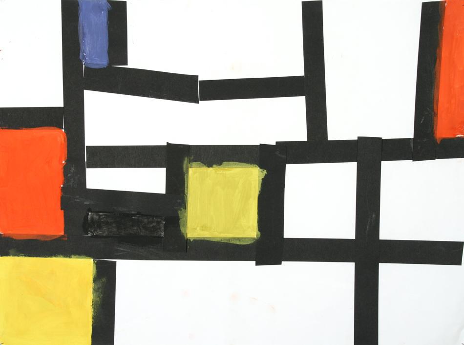 Malen wie Mondrian von Laura (9)