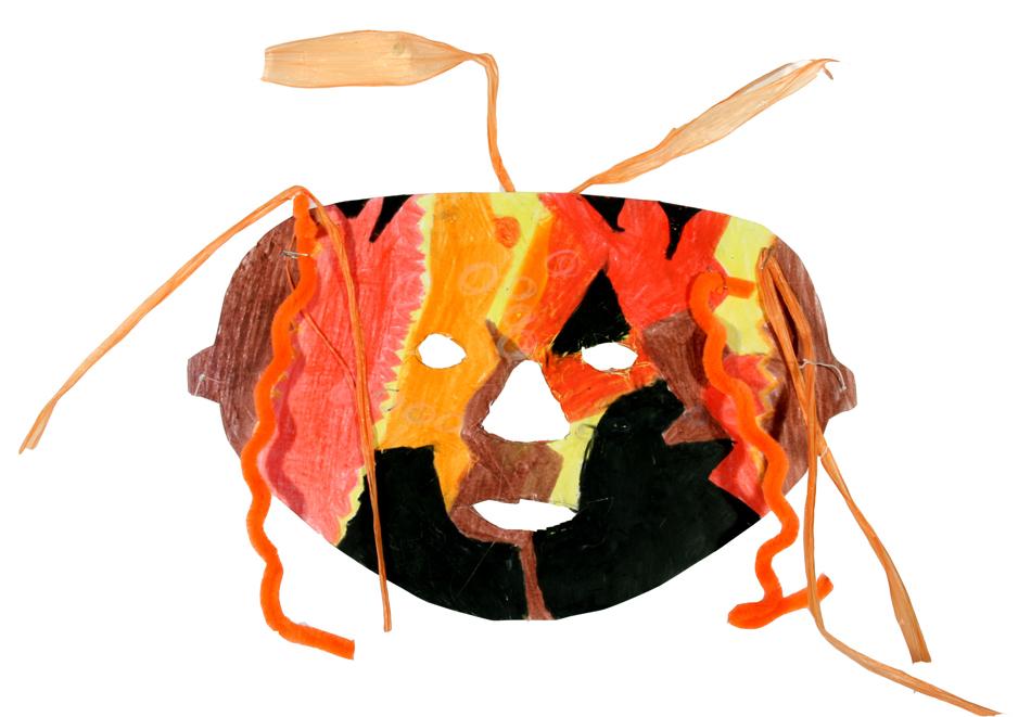 Afrikanische Maske von Hannah (10)