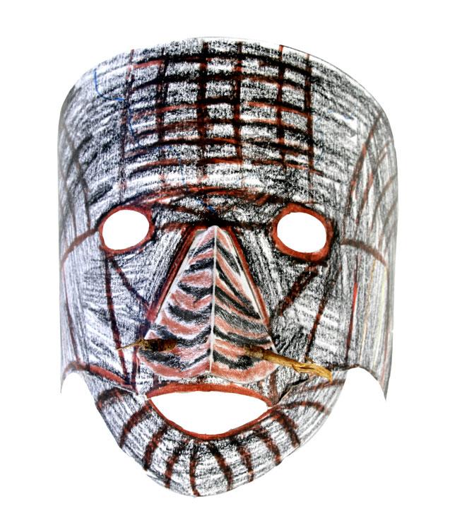 Afrikanische Maske von Sam (9)