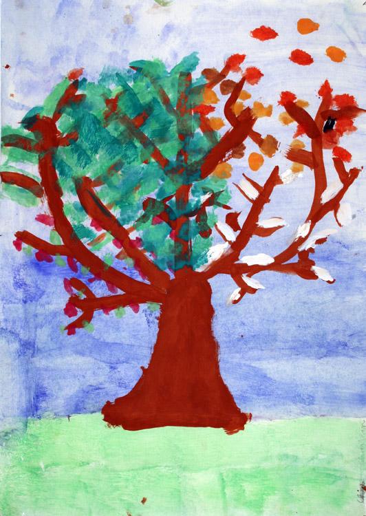 Vier-Jahreszeiten-Baum von Christian (7)