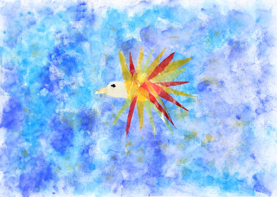 Fliegender Feuervogel von Chiara (8)