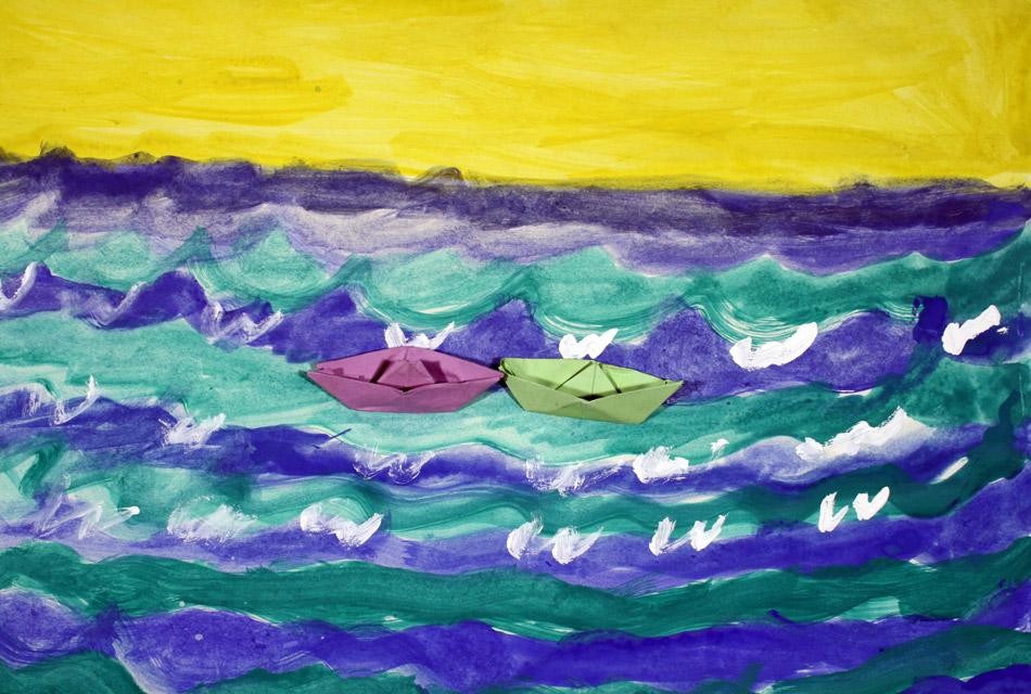 Schiffe auf dem Meer von Mathieu (7)