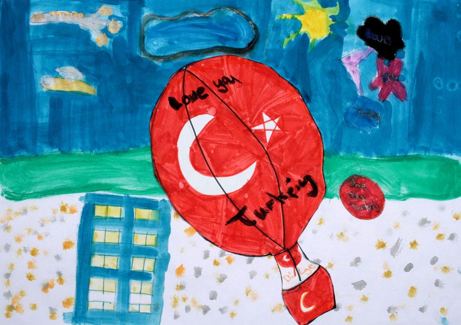 Fahrt mit dem Heißluftballon von Bilge (9)
