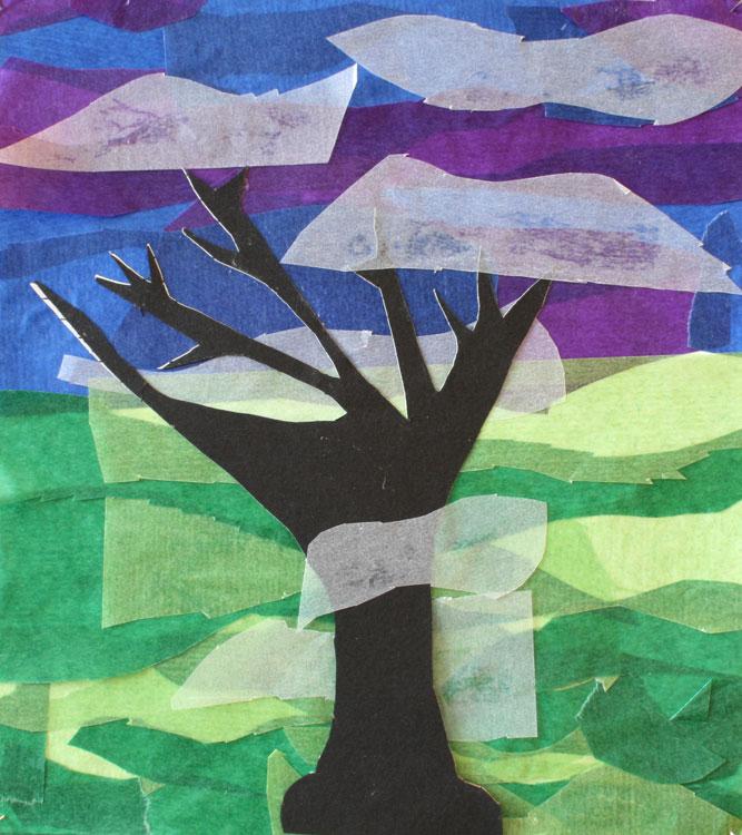 Baum im Nebel von Tabea (8)