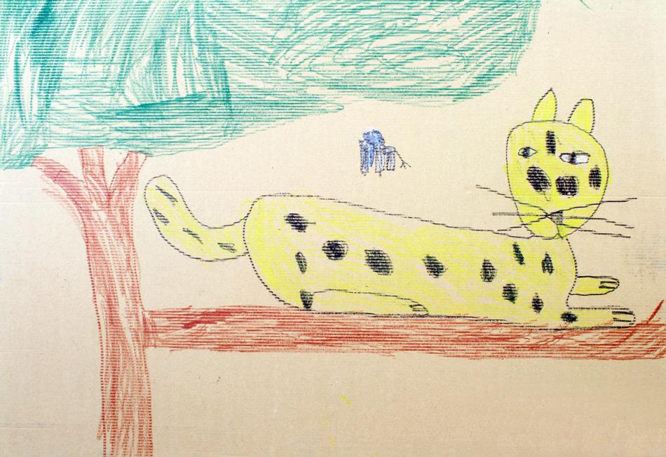 Katze auf Baum von Marius (6)