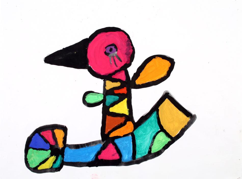 Tier nach Otmar Alt von Daniela (9)