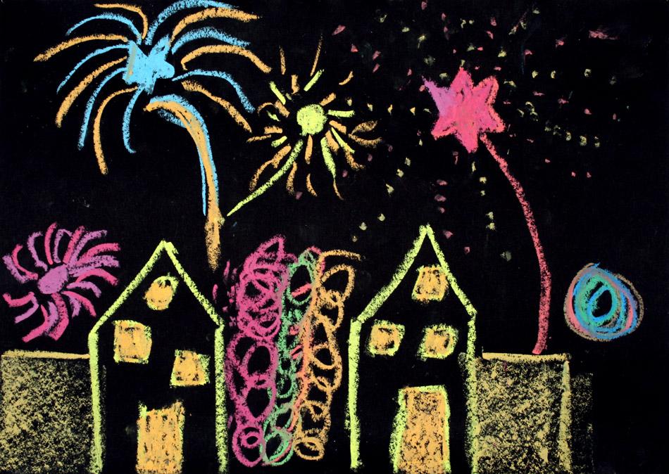 Feuerwerk 2009 von Marie (8)