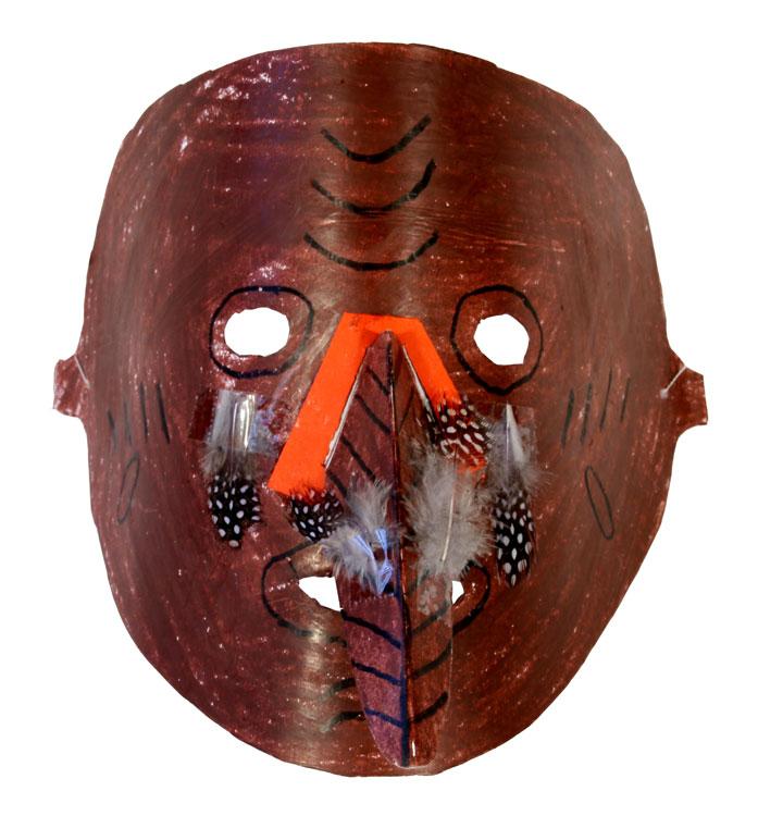 Afrikanische Maske von Johannes (9)