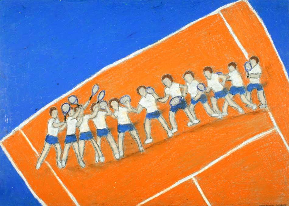 Tennisspielerin von Stephanie (17)