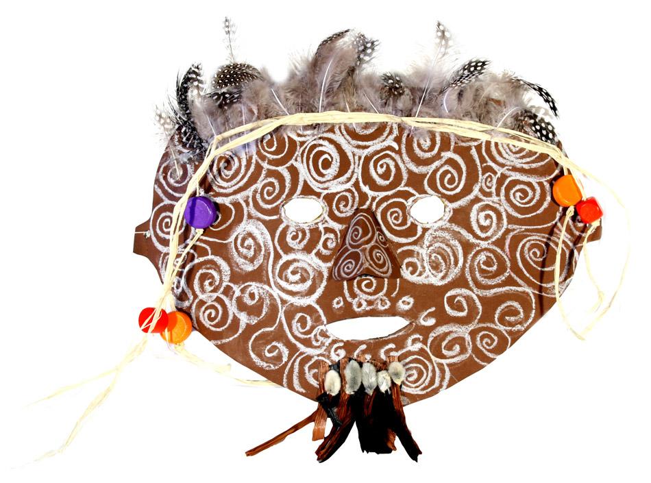 Afrikanische Maske von Anna (10)