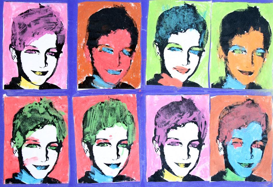 Mein Gesicht in Farbe von Marc (10)
