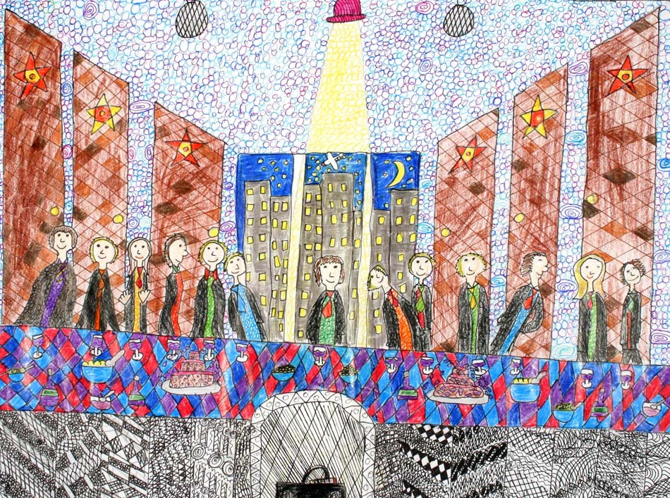 Berühmte Kunstwerke nachempfunden von Elisa (12)