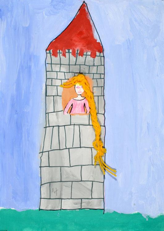 Rapunzel von Sofie (8)