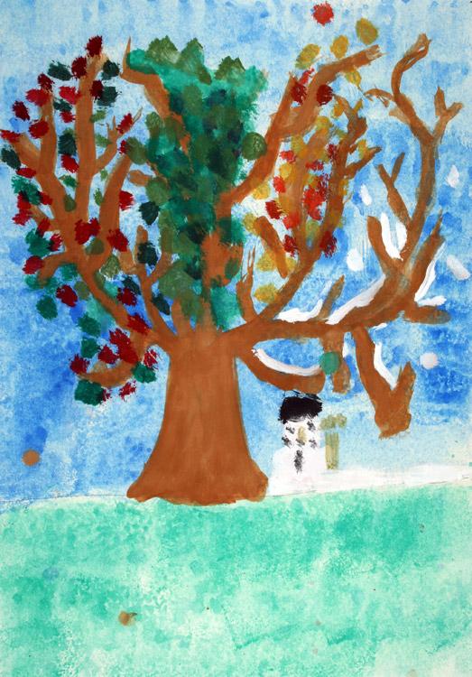 Vier-Jahreszeiten-Baum von Miriam (7)