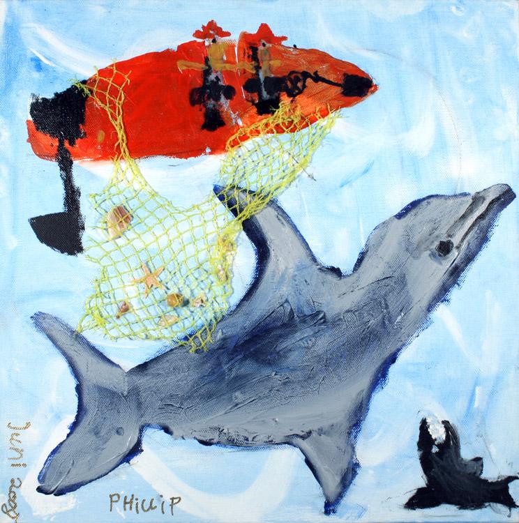 Der kleine Delphin von Phillip (9)