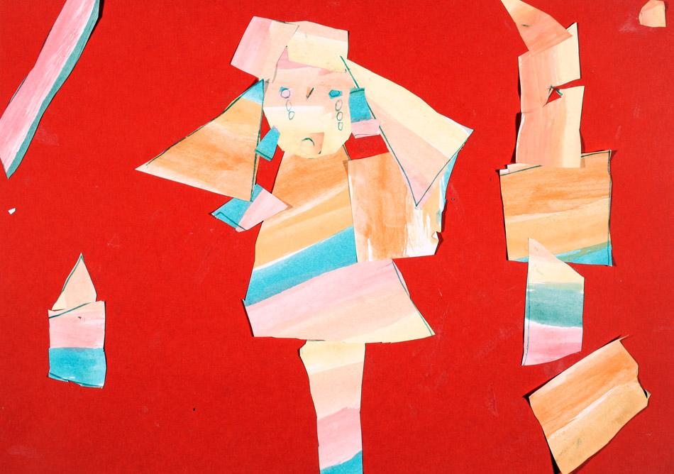 Mädchen in roter Stadt von Hilda (7)