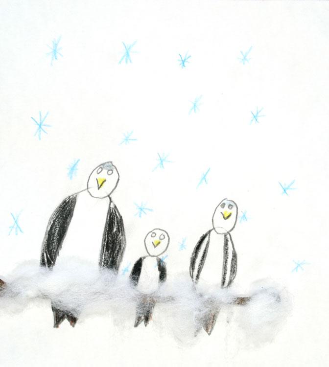 Spatzen im Schnee von Leander (7)