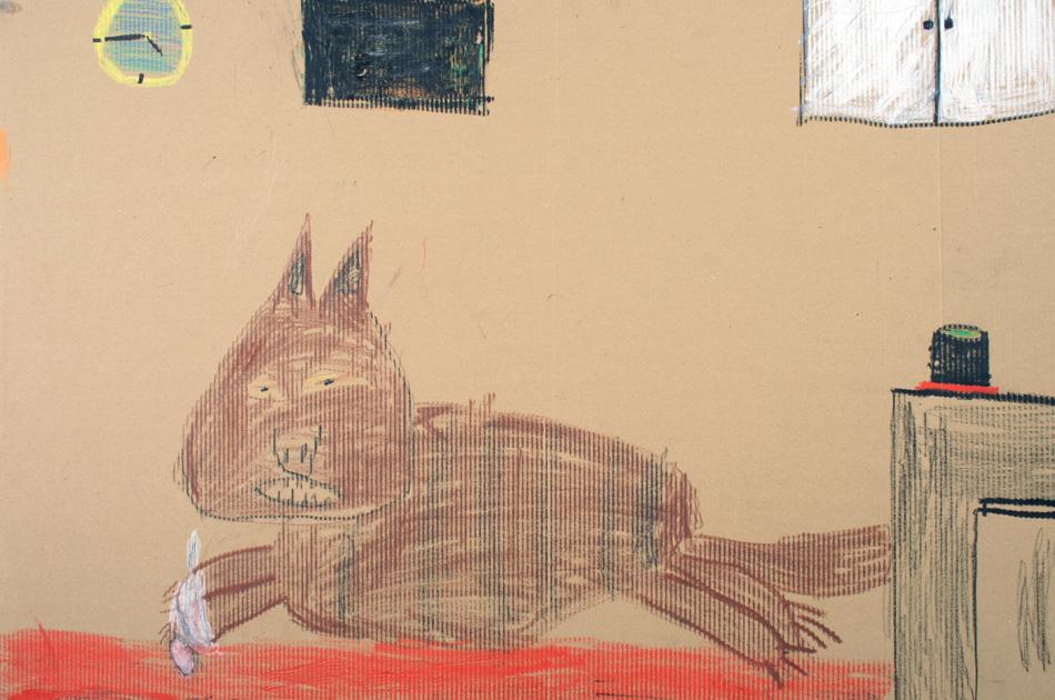Katze im Zimmer von Mathis (9)