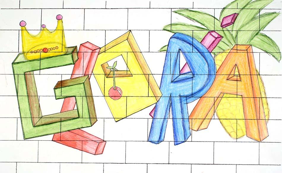 Graffiti mit dem eigenen Namen von Gloria (14)