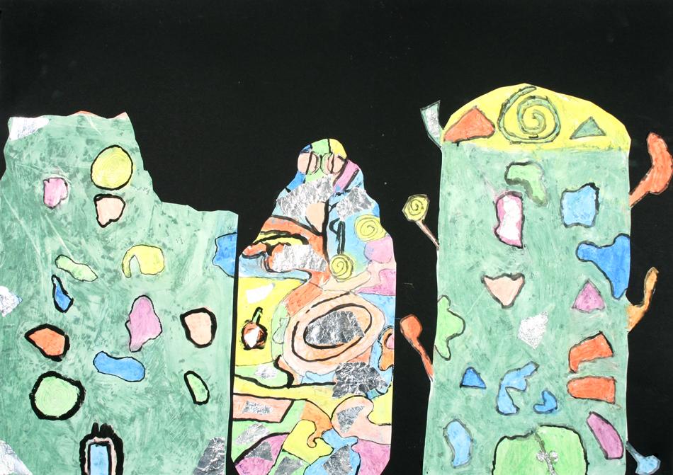Hundertwasser-Häuser von Lynn, Kerstin und Marie (9)