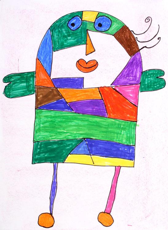 Figur nach Jean Miro von Sabrina (9)