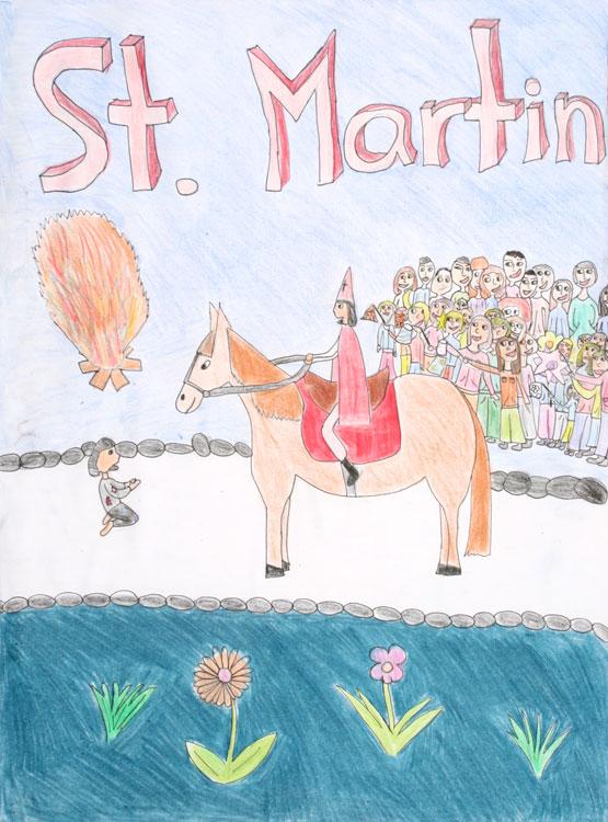 St. Martin und der Bettler von Kirsten (11)