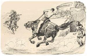 Der Yankee gegen die Ritter