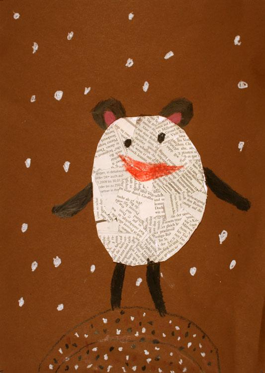 Maus im Schnee von Caroline (7)
