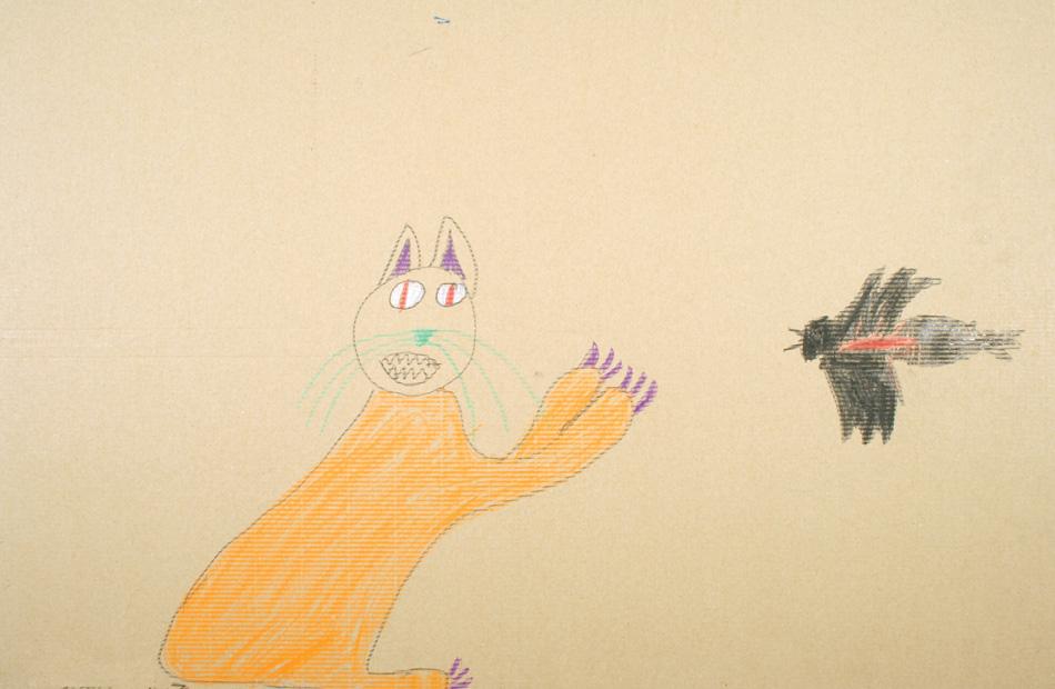 Katze fängt Vogel von Johannes (8)