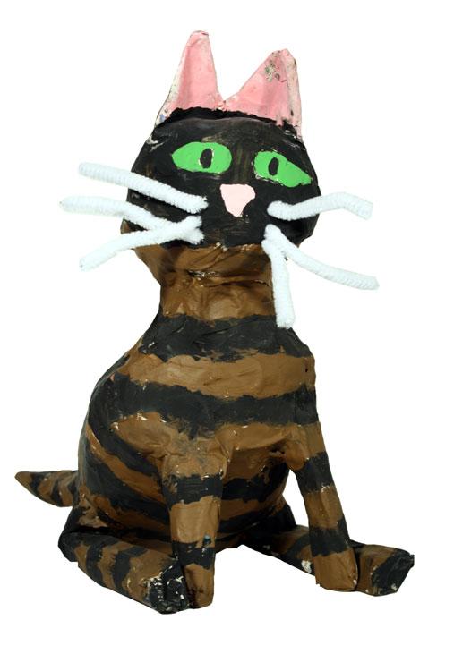 Sitzende Katze von Maren (9)