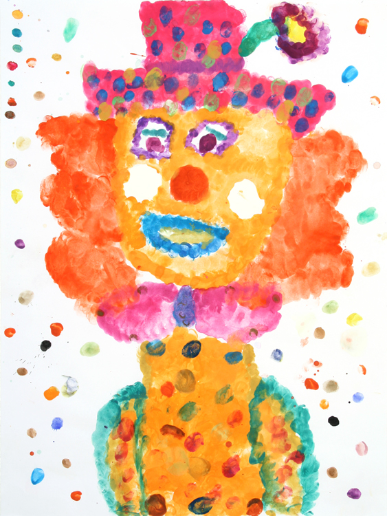 Clowngesicht von Jessica (9)