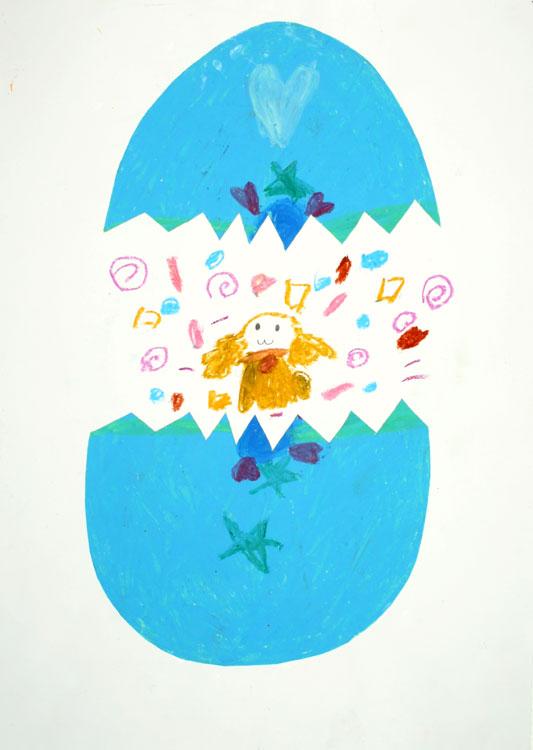 Ein Engel kommt aus dem Ei von Nana (7)