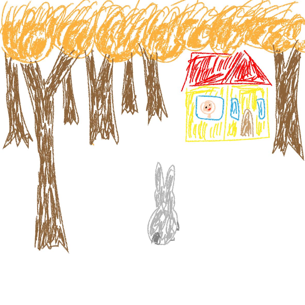 Im Walde steht ein Haus