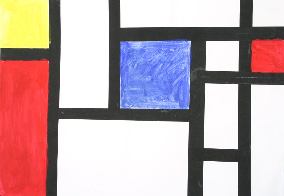 Malen wie Mondrian von Natalie (9)