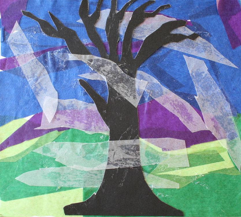 Baum im Nebel von Luisa (9)