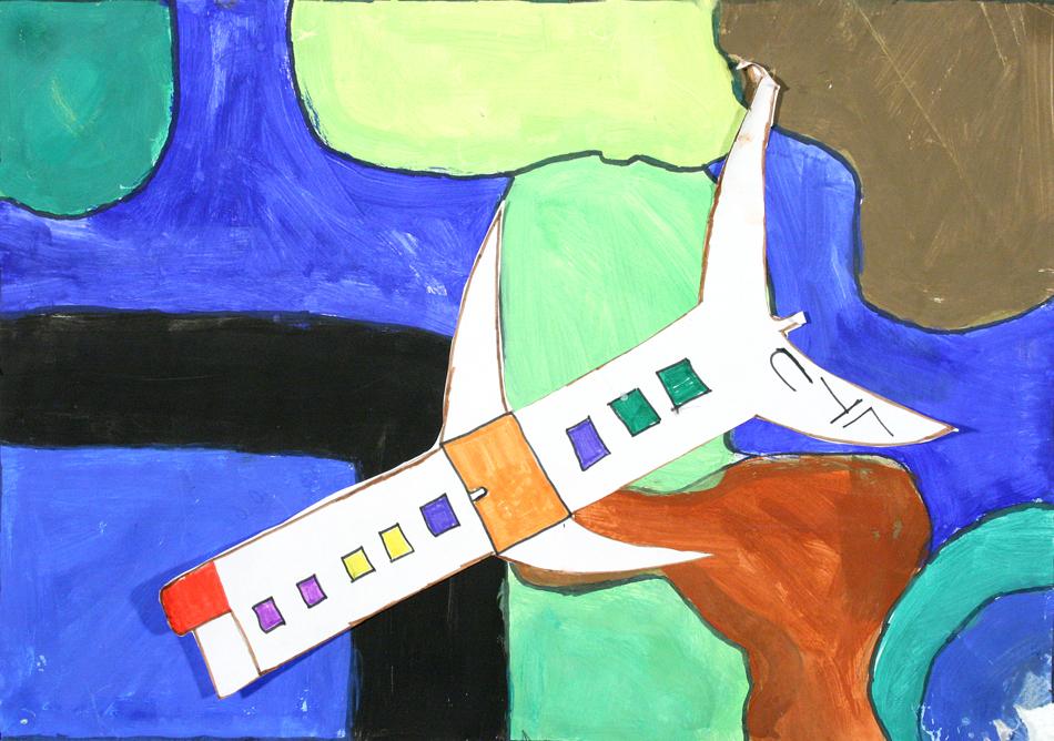 Flugzeug von oben  von Erva (9)