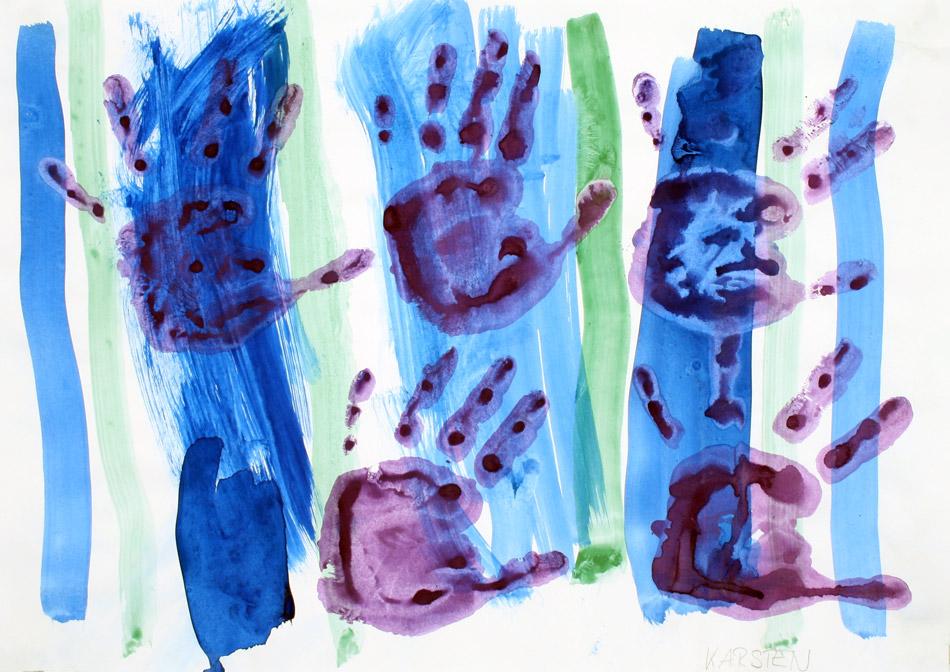 Hand- & Fingerabdruck